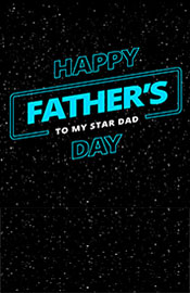 #19 Father's Day Star Wars