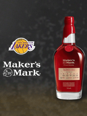 Makers Mark Los Angeles Lakers 2020 Champions Edition Bourbon Whiskey.png
